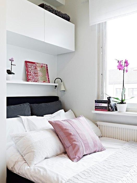 Мебель для маленькой спальни.