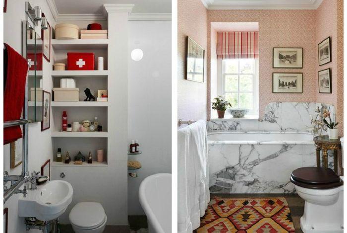 Интерьеры ванной комнаты маленького размера фото