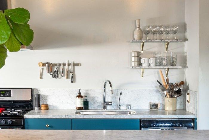 На кухне царит чистота