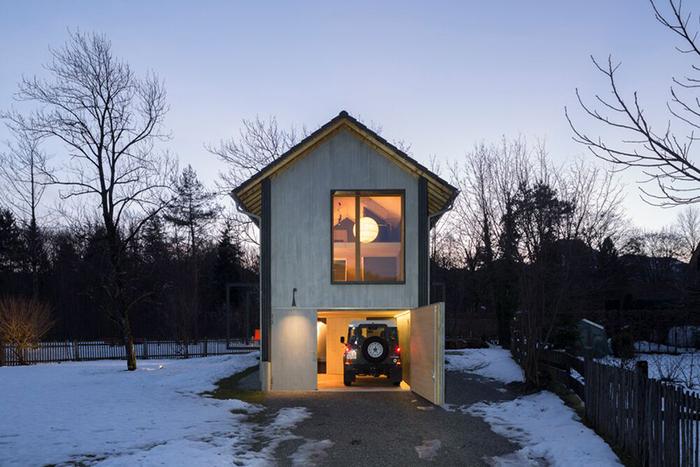 Маленький дом площадью 52 квадратных метра