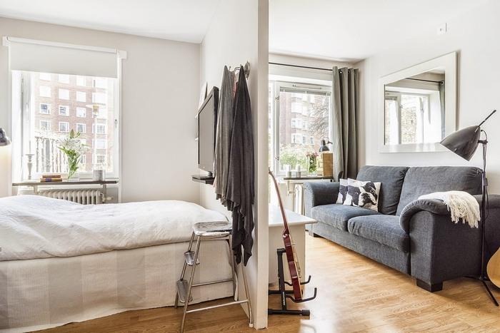 Грамотное зонирование квартиры-студии