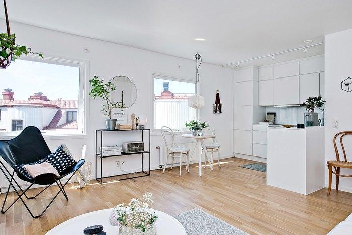Скандинавские дизайнеры любят работать с белым цветом