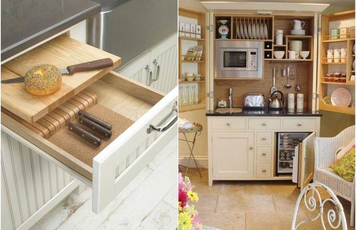 Очень маленькая кухня: крутые решения для крошечного пространства