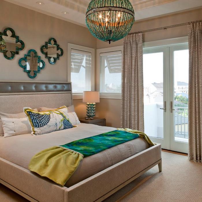 Стильный декор для спальни