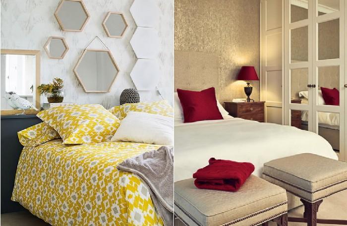 Как сделать спальню больше при помощи зеркал: 7 приёмов, которые помогут украсить комнату и изменить пространство к лучшему