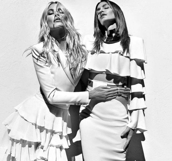 Культовые модели в фотосессии французского бренда