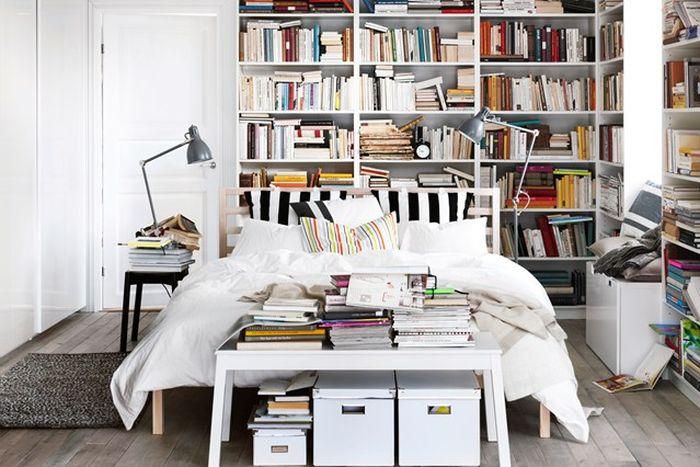 5. Спальня книгомана