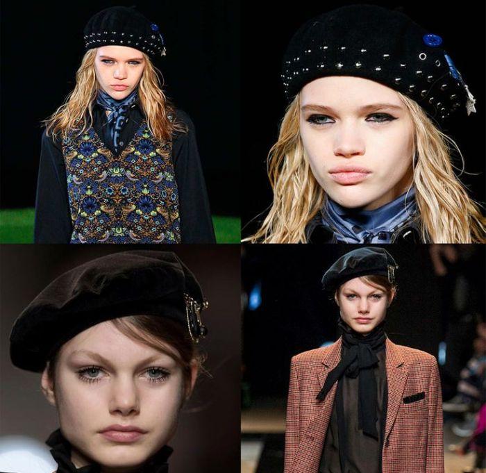 Французский берет снова в моде