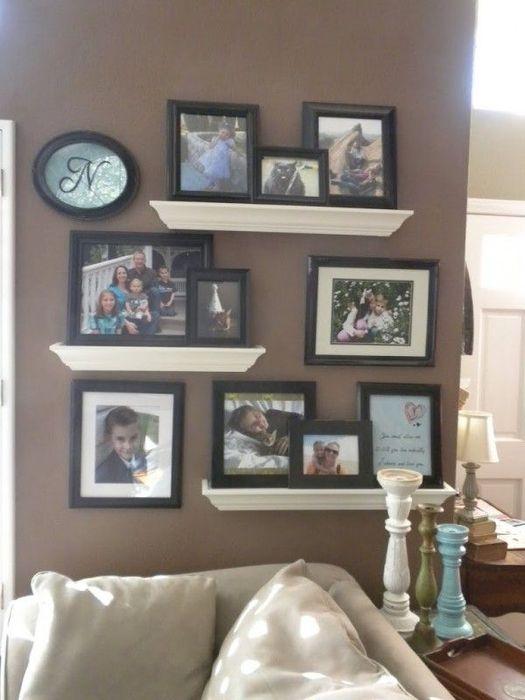 Экспозиция семейных фото