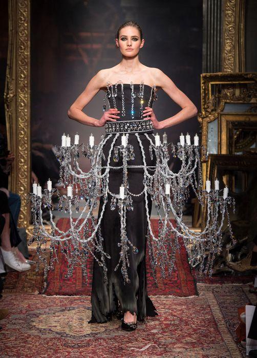 Платье-люстра