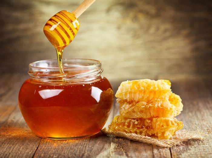 Мёд для успокоения кожи