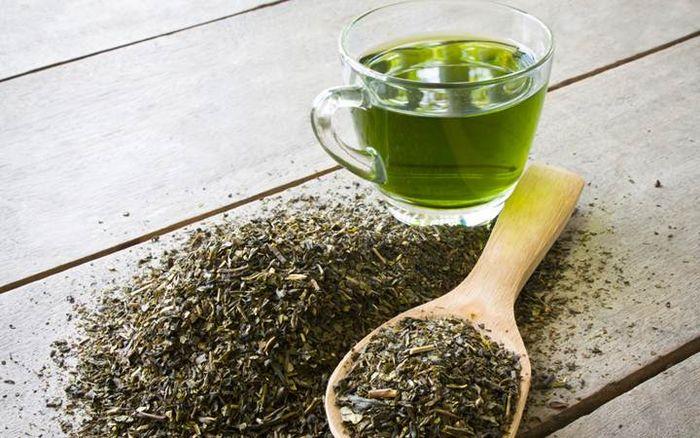 Зелёный чай для эластичности кожи