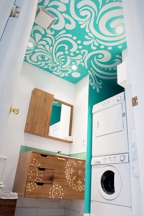 Идеи покраски потолков фото