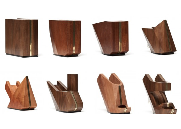 Коллекция обуви из дерева