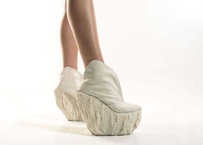 Фарфоровые туфли