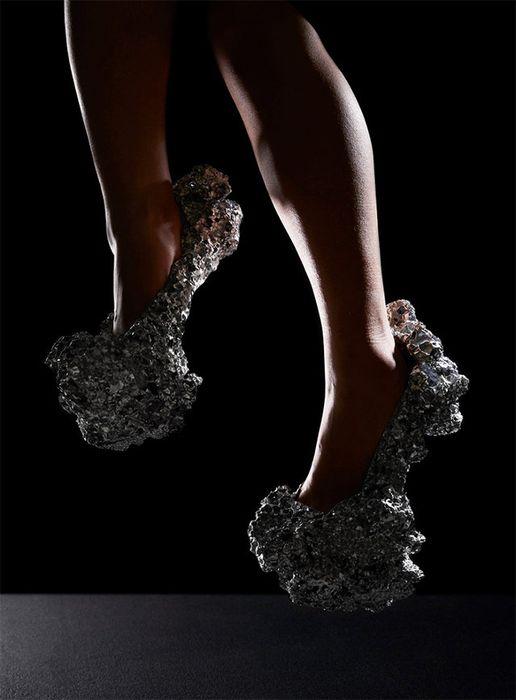 Туфли, на создание которых вдохновил космос