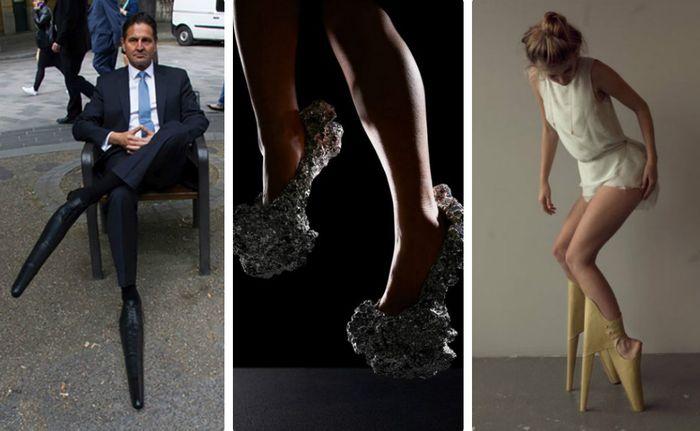 Самая неудобная и креативная обувь в мире
