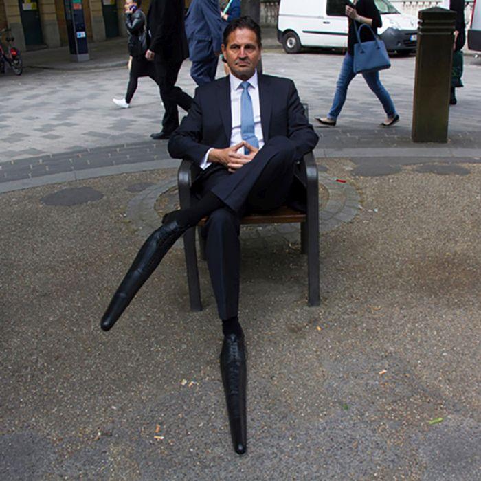 Самые длинные мужские туфли в мире