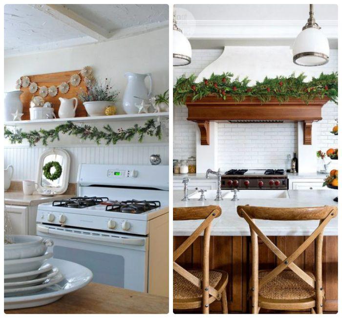 Come decorare la cucina nel nuovo anno