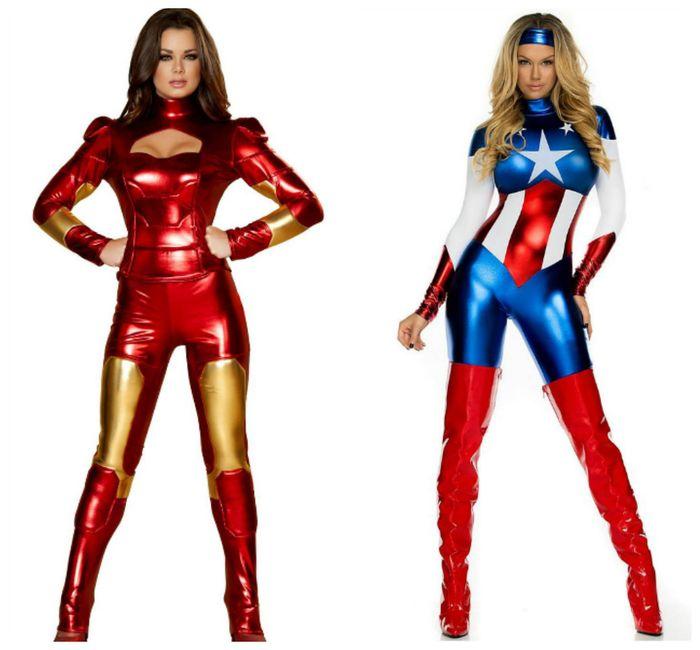 Образ супергероини на Новый год