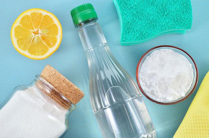 Народные средства для очистки плиты