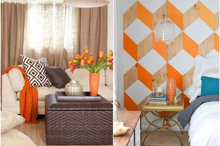 Мандариновый всплеск: 10 крутых примеров использования оранжевого цвета в интерьере