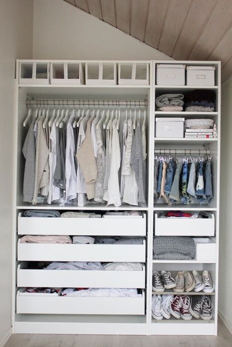 Многофункциональный органайзер для открытой гардеробной
