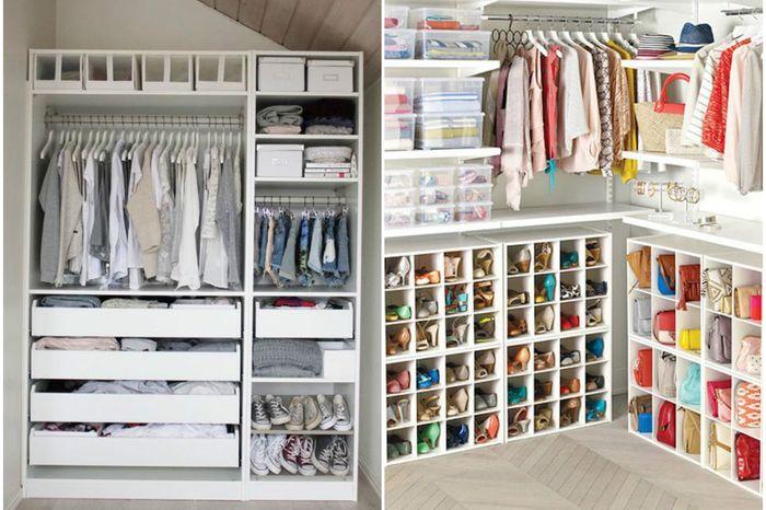 Крутые идеи для гардеробной