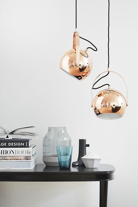 Медные светильники в стиле Тома Диксона