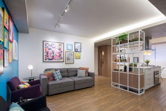 Разные сценарии освещения в гостиной