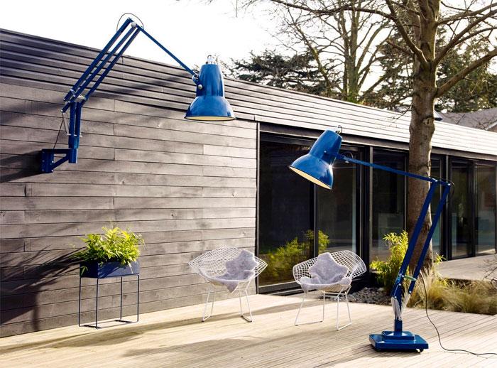 Гигантские светильники для сада