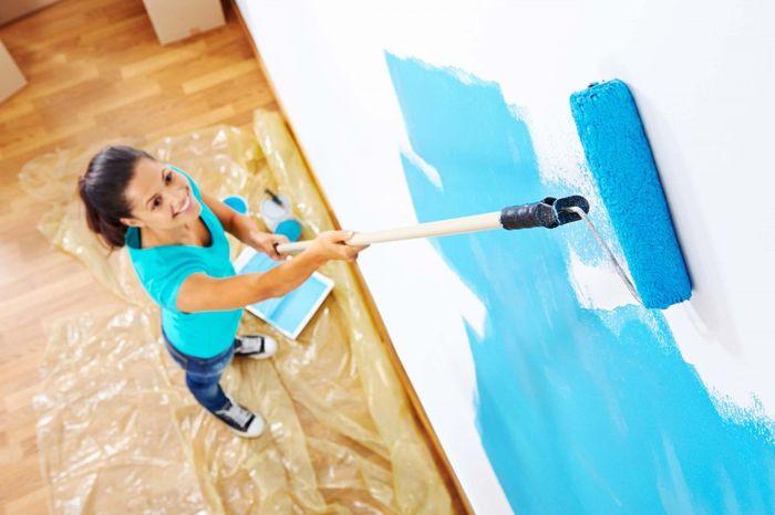 Правила удачной покраски стен