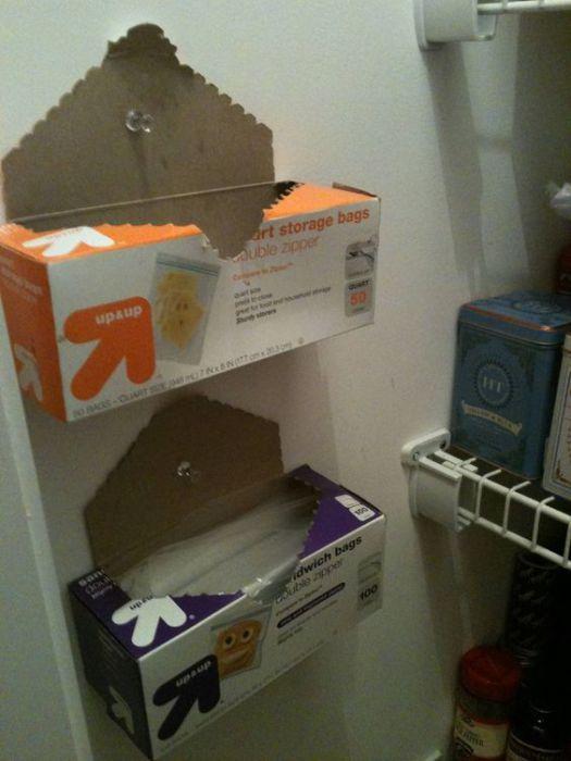 1. Хранение пакетов