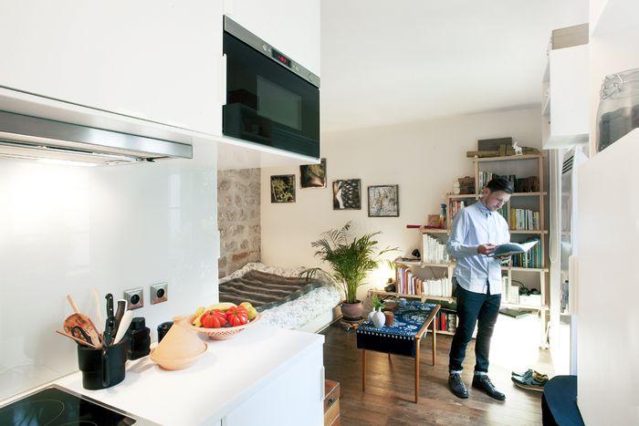 В этой квартире простая и бюджетная отделка
