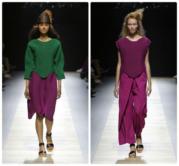 Новая коллекция одежды Issey Miyake