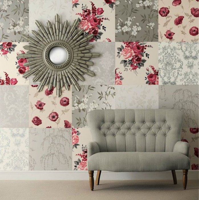 Декор стен в интерьере