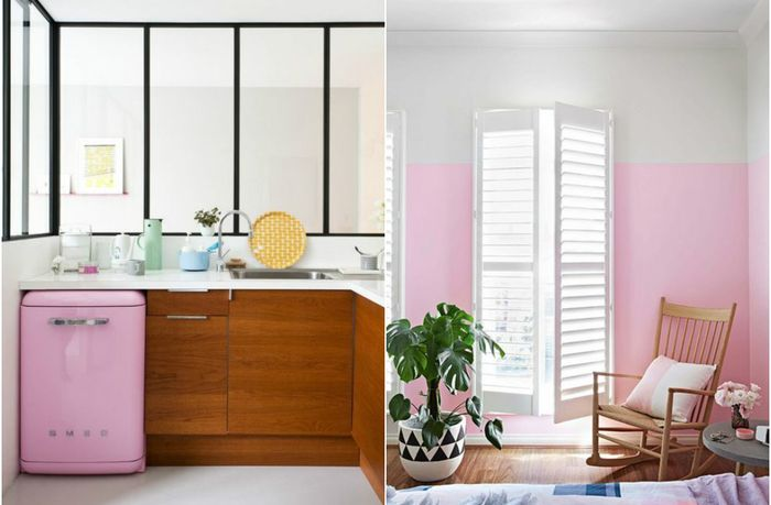 Розовые акценты в интерьере: 7 реально крутых дизайнерских приёмов