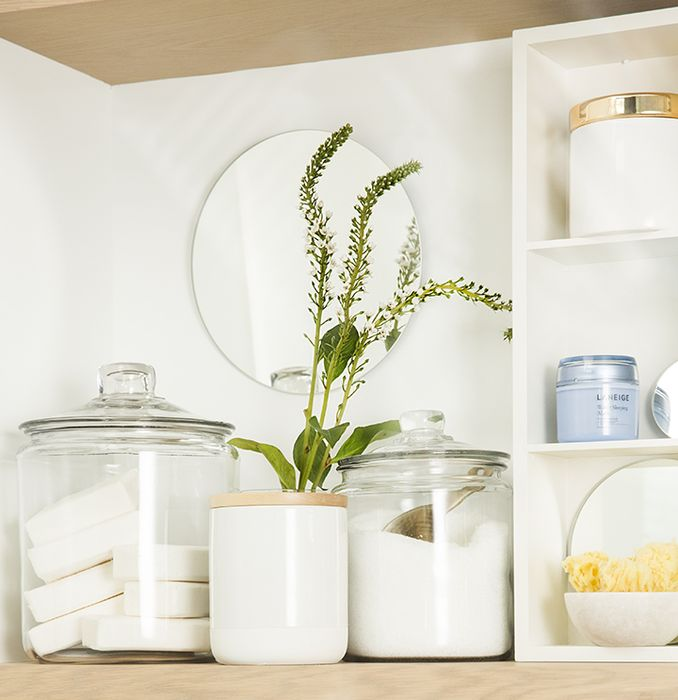 Хранение мыла и порошка для стирки