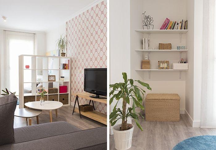 Крутое преображение небольшой квартиры