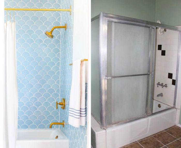 Преображение маленькой ванной