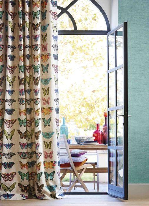 Стильные весенние шторы