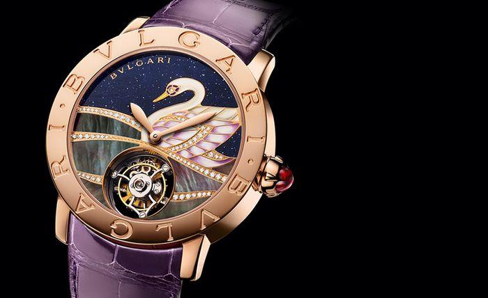 Новые часы Bulgari