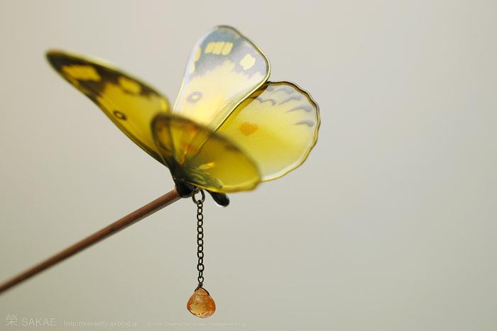 Бабочка канзаши.