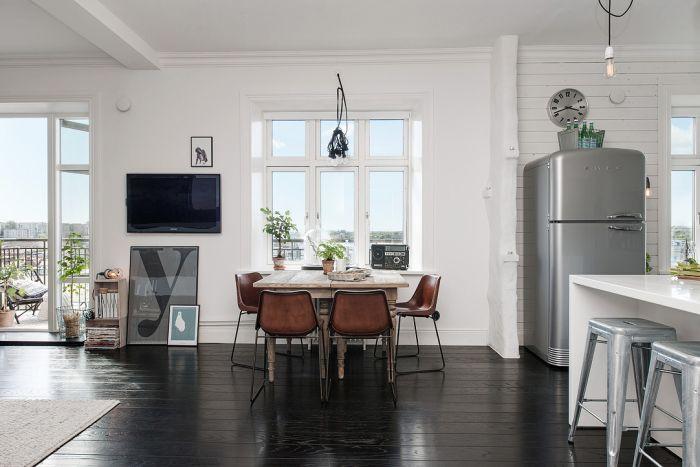 Мебель делает интерьер эклектичным