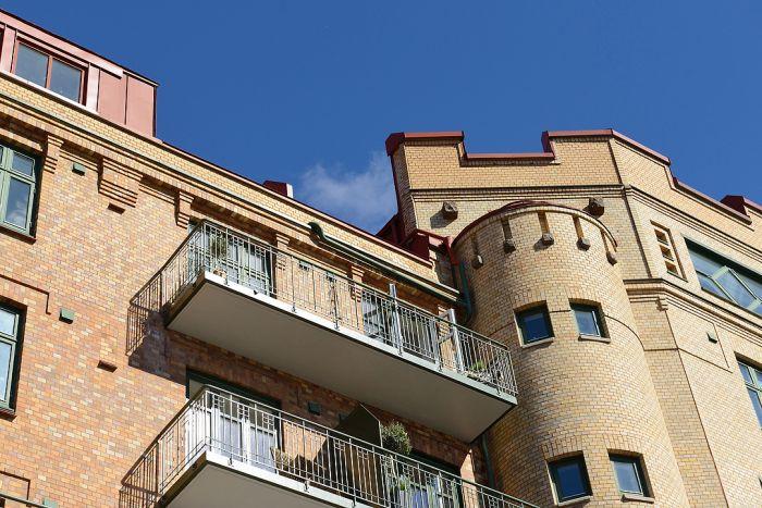 Квартира находится в красивом историческом здании