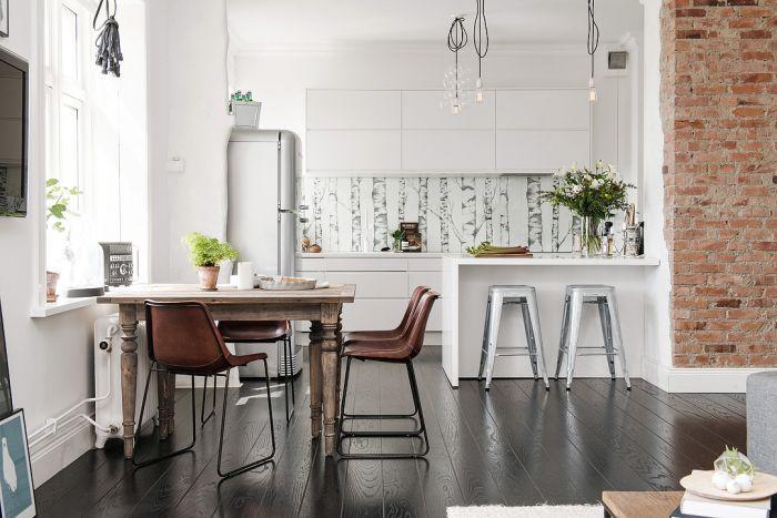 Стильная квартира в скандинавском стиле