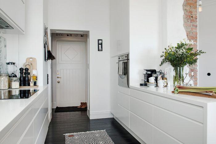 Кухня в лаконичном скандинавском стиле