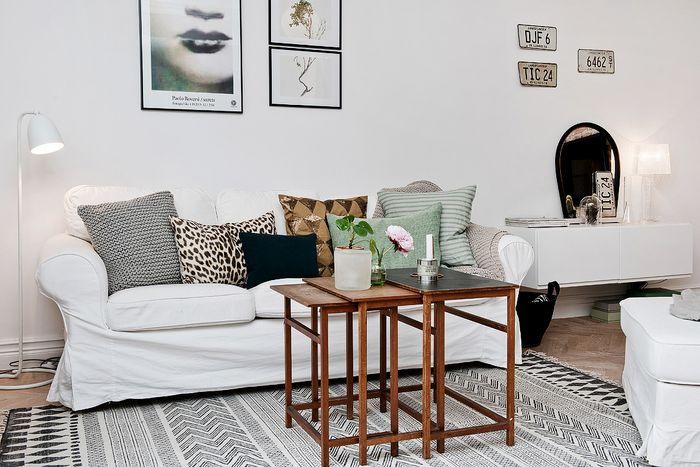 Уютная зона гостиной