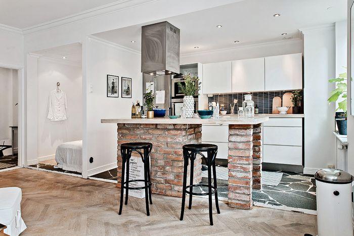 Стильный интерьер небольшой квартиры