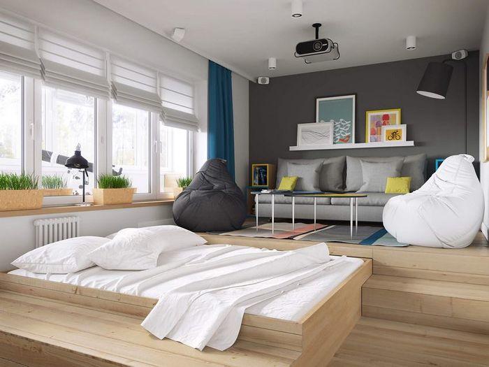 Спальное место в малогабаритке: максимум функциональности и комфорта